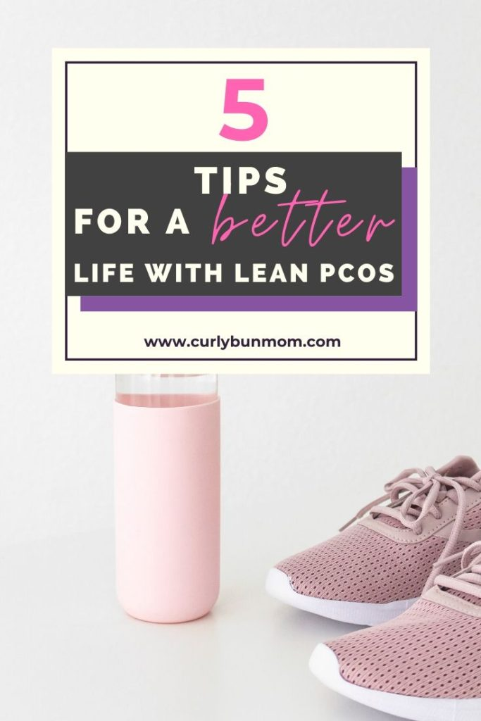5 tips for a better life with lean PCOS