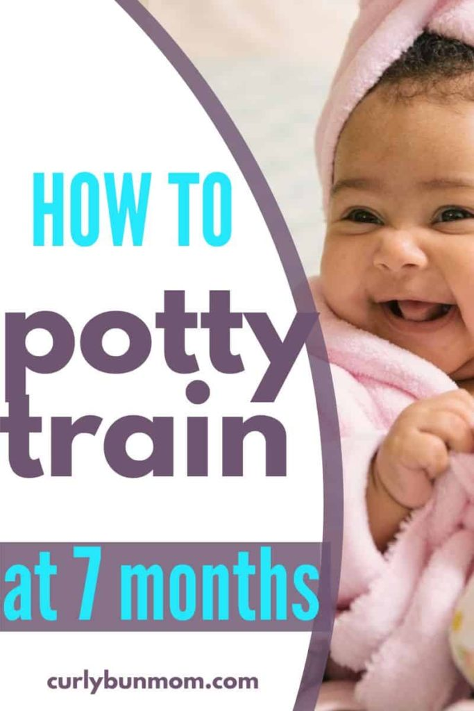 how to potty train at 7 months