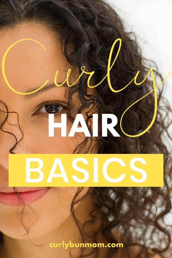 curly hair basics for busy moms