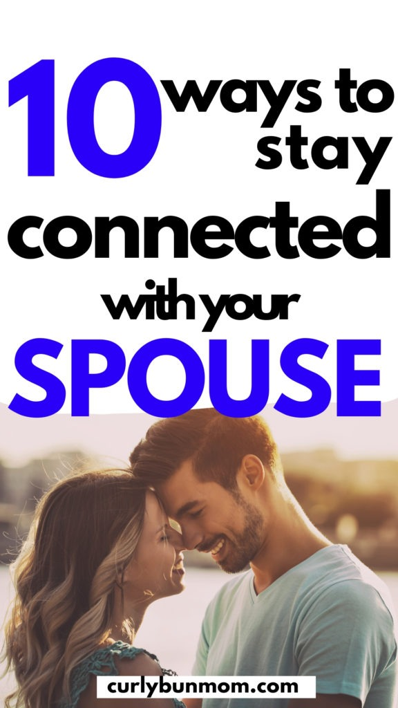 10 ways to stay connected to your spouse after kids