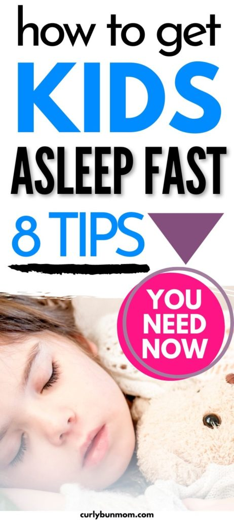 HOW TO GET YOUR KIDS TO FALL ASLEEP FAST
