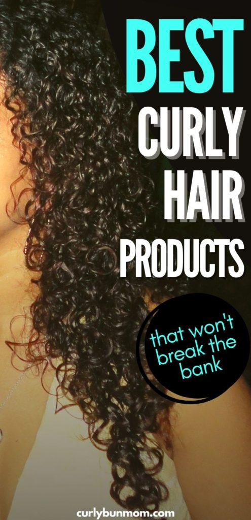 The best cheap drugstore curly hair products, budget friendly products for curly hair, affordable curly products for hair