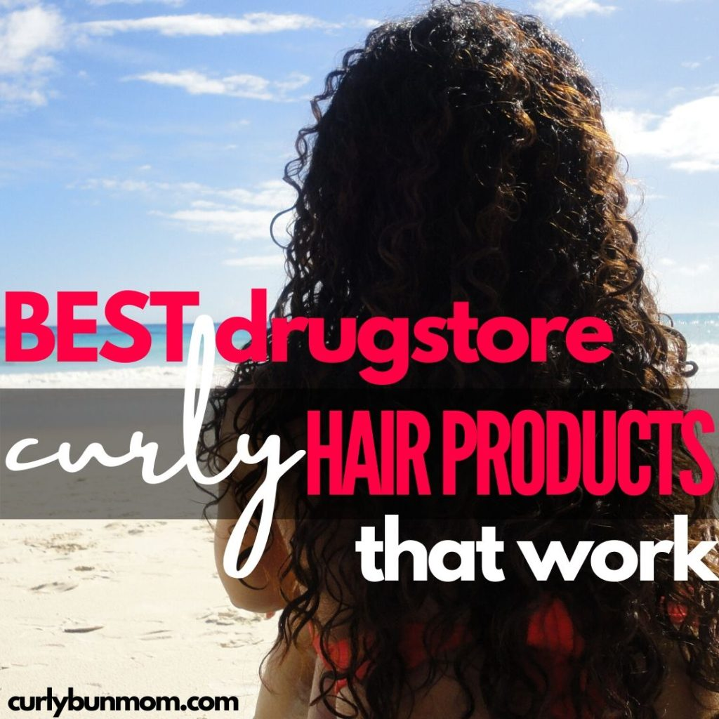 best drugstore curly hair products. The best cheap curly hair products that work. Affordable curly hair products that every curly girl must have