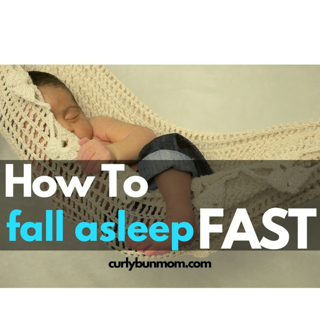 how to fall asleep fast as a kid