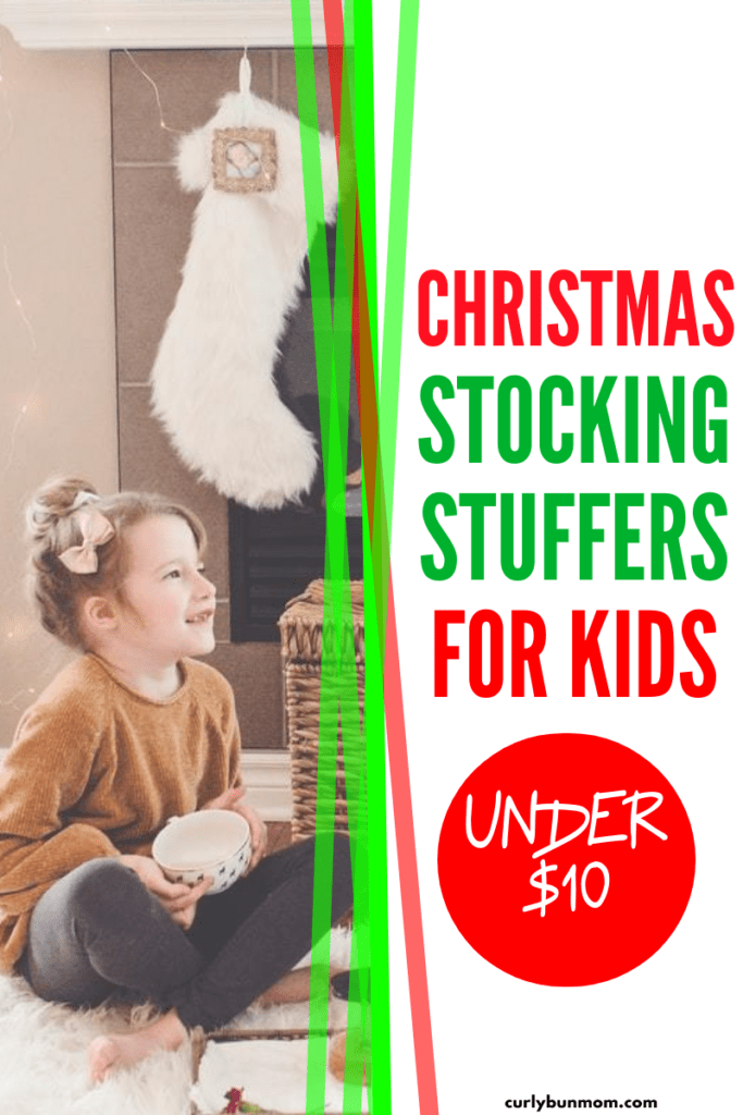 Christmas Stocking Fillers And Stuffers For Kids - budget friendly & frugal Christmas gift ideas for babies, toddlers & kids