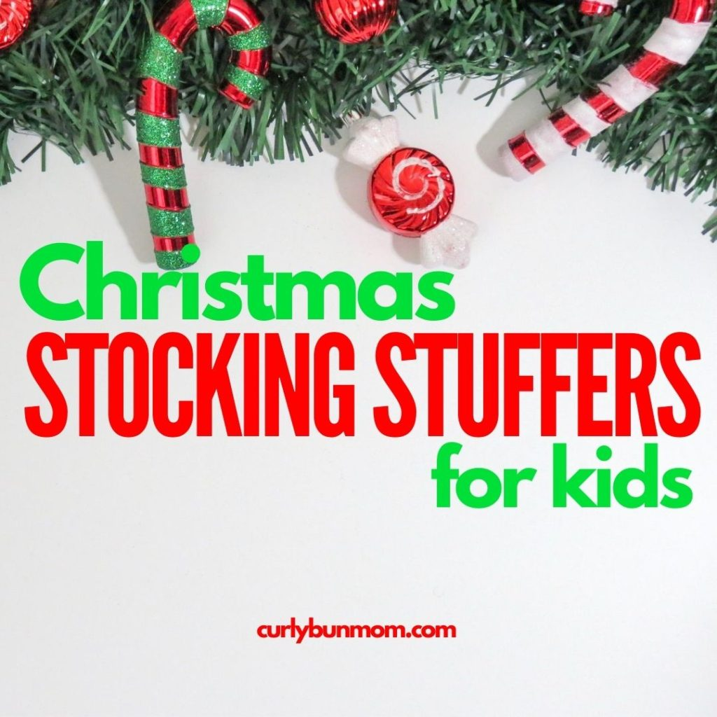 Christmas stocking fillers - frugal Christmas gift ideas for babies, toddlers & kids