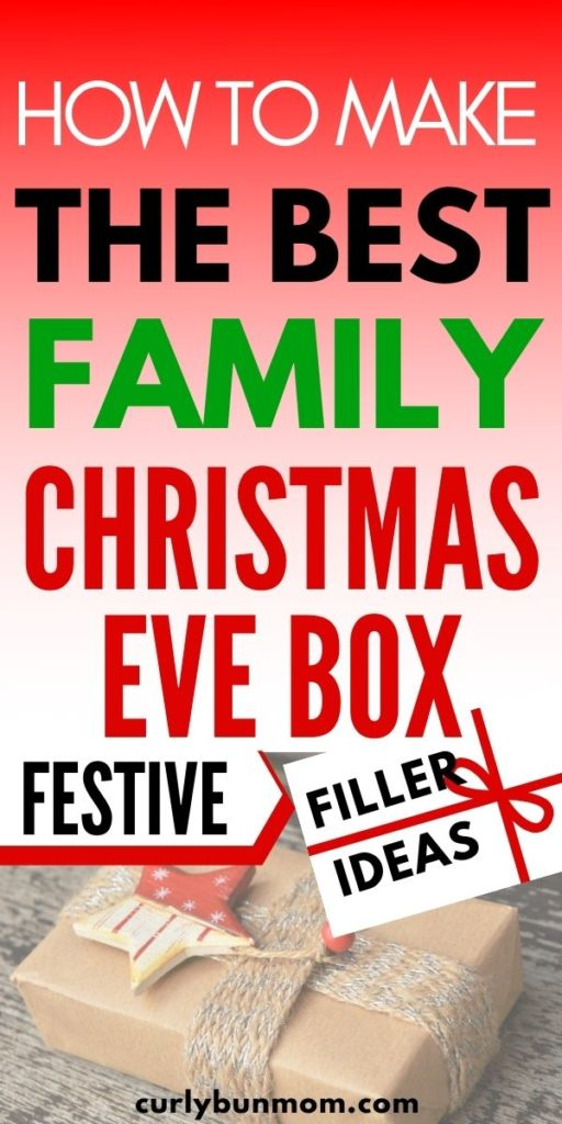 how to make the best Christmas Eve box for families