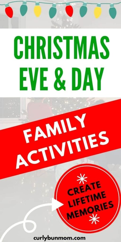Family Christmas Eve & Christmas Day Activities To make Christmas Extra special