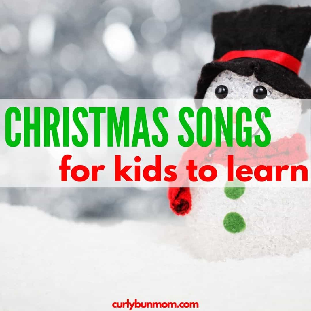 Christmas songs for kids to learn