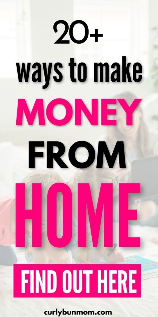 Stay at home mom jobs - work from home jobs - how to make money from home