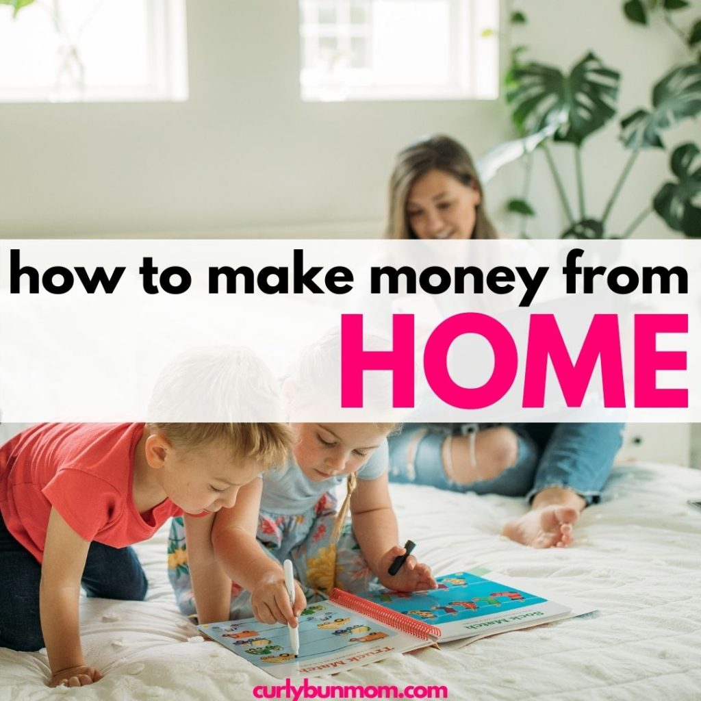 stay at home mom jobs - easy ways to make money from home