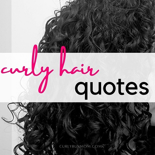 curly hair quotes for girls with curls