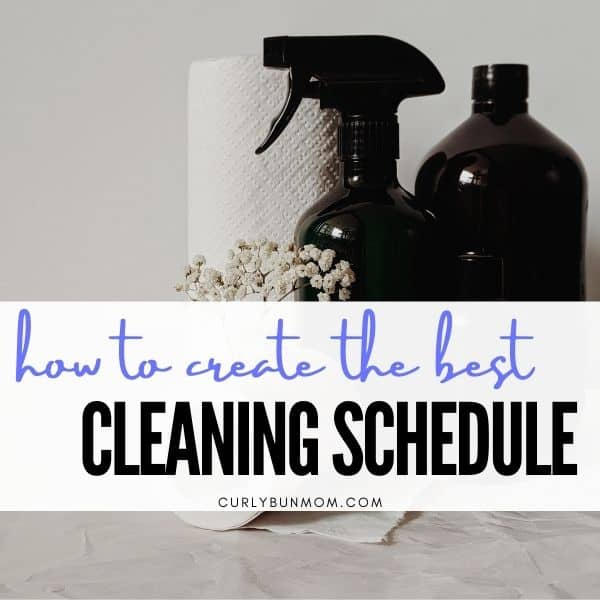create a realistic cleaning schedule routine for mom and your family. Get your house clean, keep it clean with cleaning tips. spring cleaning. Christmas cleaning. Easter cleaning