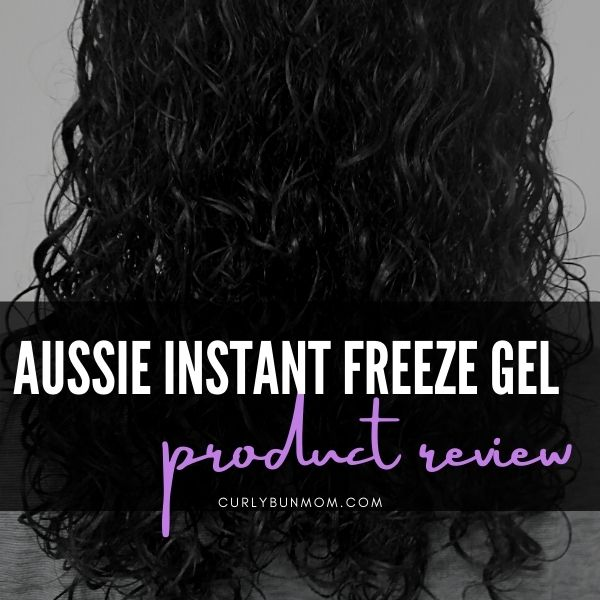 Aussie Instant Freeze Gel - 20 Hour Hold - Curly Girl Approved Product Review