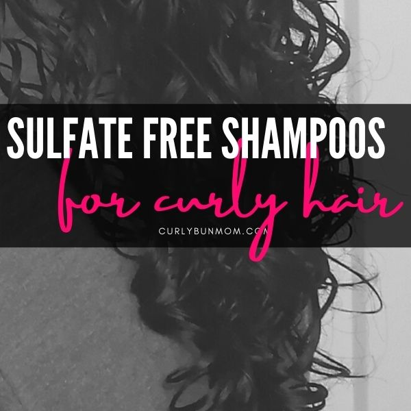 curly girl method approved sulfate free shampoo - drugstore shampoo for curly hair